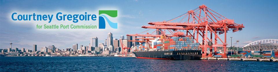 Courtney Gregoire for Seattle Port Commission